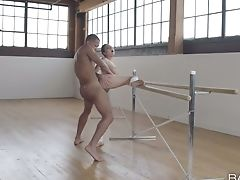 Limber Ballerina Melissa Moore Luvs Every 2nd Of Sultry Fucky-fucky With Black Counterpart