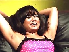 Brown-haired Annie Cruz Gets Ruthlessly Tongue Fucked By Sinn Sage