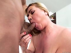Matures With Big Hooters Can't Stop Sucking In Steamy Oral Activity With Hard Cocked Fuck Friend