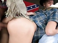 Blonde Nataly Von Asks Her Man To Drill Her Sweet Mouth