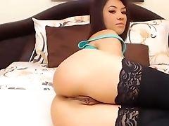 121karina Showcasing Rump And Fuckbox