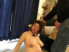 Enslaved Matures Woman With Big Funbags Jaws Fucked