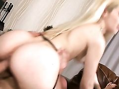 Blonde Honey Doll Gargles The Jizz Out Of Pole  - Pornalized.com Fuck-fest Tube