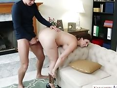 Big Tittied Mummy Sara Jay Entices One Horny Fellow And Drinks His Manhood