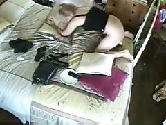 Wifey Masturbating In Front Of Mirror