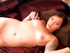 Tranny Small Tits Butt Plug Self Sucking