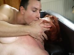 Dirty Matures Red-haired Marsha Gives Bj And Gets Pounded Rear End Style