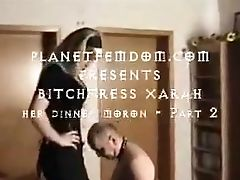 Bitchtress Xarah-her Dinner Moron Two