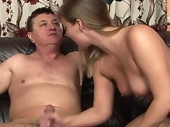 Teenager Misty Mild Gives Hatch Job To Hot Stud