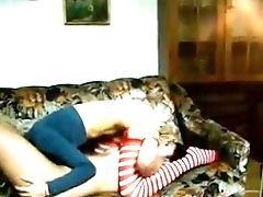 Two Awesome Fairly Bosomy Lesbos Were Engaged With Nice Hump In Sixty-nine Pose