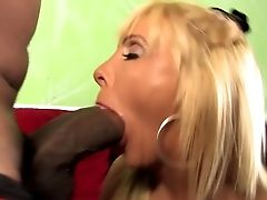 Flawless Matures Chesty Mom Fucks Two Bbcs