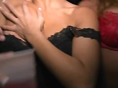 Interracial Fuckfest Soiree In The Club With Bibi And Bella Reese