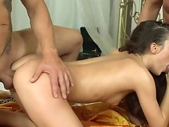 Teenage Babe Doll Loses Manage In Rectal Madness