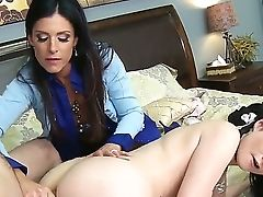 Hot Honies Veruca And India In An Anal Invasion Threesome