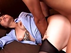Deepthroating Nippon Mom Booty-fucked