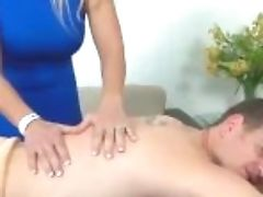 """""""blonde Cougar With Big Tits Strokes A Big Pipe"""""""
