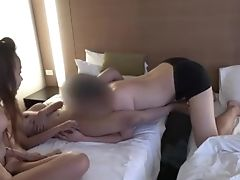 'asian Ladies Joy And Pai Both Get Creampied In A Motel Room'