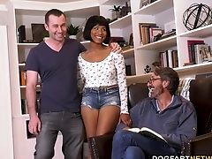 Meeting Bf's Stepfather Completes With Xxx Dual Intrusion Threesome