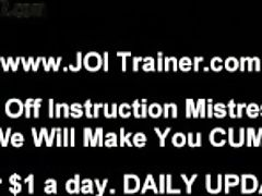 """female Supremacy And Joi Masturbate Off Training"""