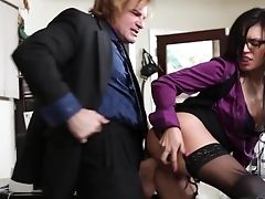 Evan Stone Loves Horny Eva Angelina's Amazing Figure And Fucks Her Mouth As Hard As Possible