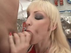 Leslie Taylor Makes Adorably Sexy Harlot Sofia Valentine Cry And Shout With His Pulsating Man Meat In Her Bum After Cock Blowing