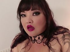 Dark-haired Kelly Shibari Can't Get Enough And Takes Guy's Hard Love Wand In Her Liberate Honeypot Again And Again In Steamy Interracial Act