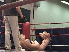 Behind The Scenes With Nikky Thorne And Nataly Von Grappling And Undressing
