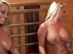 Lesbos With Big Moist Tits Brett Rossi And Molly Cavalli